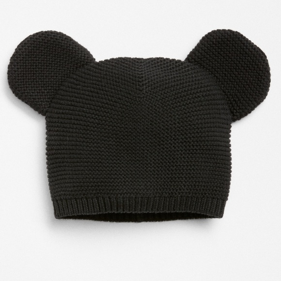 d4a4a42833a Baby Gap Other - Baby Gap Disney Black Mickey Mouse Knit Hat